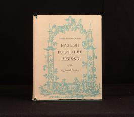 1959 English Furniture Designs of the Eighteenth Century Peter Ward-Jackson