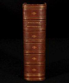 1844 BIOGRAPHIE PORTATIVE UNIVERSELLE Portable Univeral Biography J Dubochet