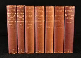 1892 A History of England in the Eighteenth Century