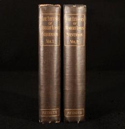 1902 2 Vol LETTERS Robert Louis STEVENSON Sidney Colvin