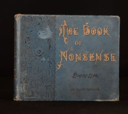 1905 The Book of Nonsense Edward Lear Illustrated Limericks