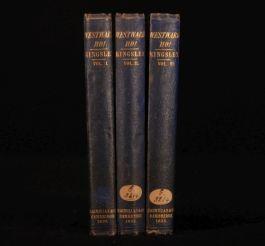 1855 3 Vols Westward Ho! Amyas Leigh Charles KINGSLEY