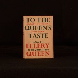 1949 To The Queen's Taste Anthology Crime Stories Ellery Queen Mystery Magazine