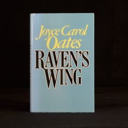 1987 Raven's Wing First Edition Joyce Carol Oates Anthology Stories Prizewinning