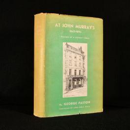 1932 At John Murray's Records of a Literary Circle 1843-1892