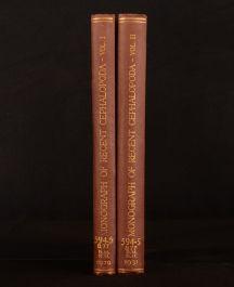 1929-32 2vol Monograph of the Recent Cephalopoda G. C. Robson Illus 1st