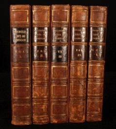 1831 5 Vols LIFE Samuel JOHNSON James BOSWELL Croker