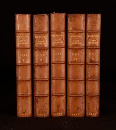 1827 5Vols William Bray Memoirs Of John Evelyn Esq With Correspondence Illus