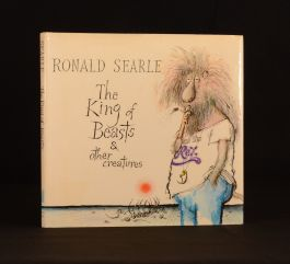 1980 Ronald Searle The King of Beasts Illustrated 1st Edition Humour