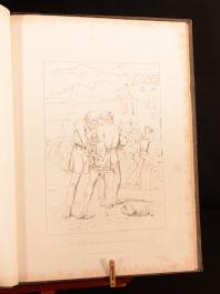 1837 The Rime Of the Ancient Mariner Samuel Taylor Coleridge David Scott Illus