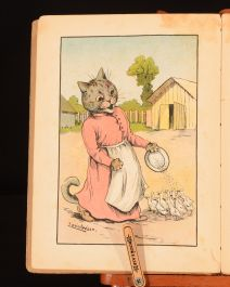 1914 A Cat Alphabet And Picture Book For Little Folk First Ed Louis Wain