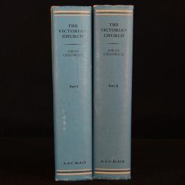 1966-1970 2vol Ecclesiastical History Victorian Church Chadwick First Edition Scarce