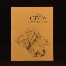 1972 Dear Illusion Kingsley Amis Signed Limited Edition 42/100