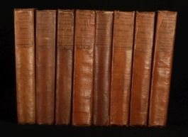 1830-38 8 Vols Lardner's CABINET CYCLOPAEDIA First Ed
