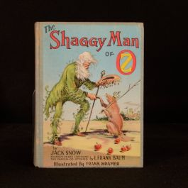 1949 The Shaggy Man of Oz First Edition Jack Snow L Frank Baum Illustrated