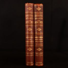 1931-1933 2vol British Sports and Sportsmen Limited Edition Agriculture Aviation Motoring