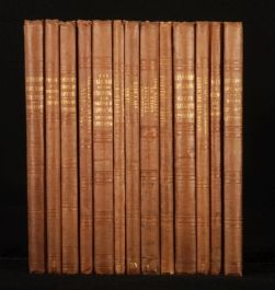 1840-1850 13 Vols Works from The SHAKESPEARE SOCIETY