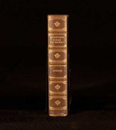 1913 Charles Gibson Scientific Ideas Of To-Day In Leather Prize Binding