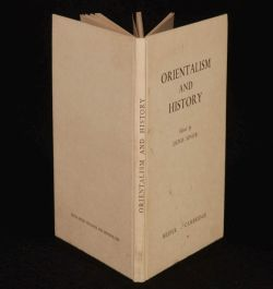 1954 ORIENTALISM & History Edited by Denis SINOR FIRST