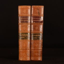 1889 2vol Chamber's Cyclopaedia of English Literature Fourth Edition Frontispiece