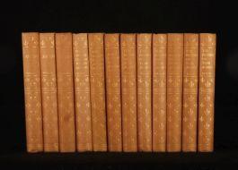 1926 12 vol Works of HENRY FIELDING Saintsbury Navarre