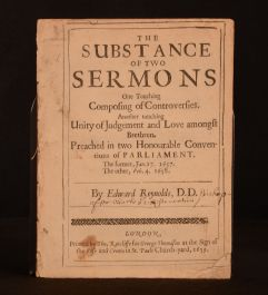 The Substance of Two Sermons One Touching Composing of Controversies