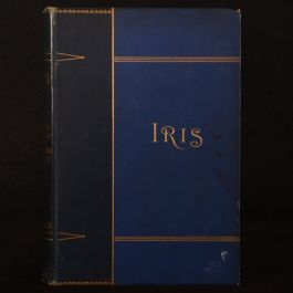 1889 Iris Studies in Colour Talks About Flowers Delitzsch First UK Edition