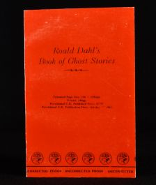 1983 Roald Dahl's Book of Ghost Stories