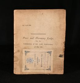 1888 Peace and Harmony Lodge No 60 Celebration of the 150th Anniversary