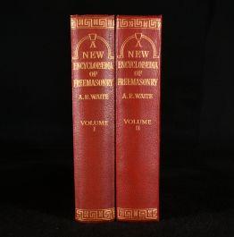 1921 A New Encyclopaedia of Freemasonry