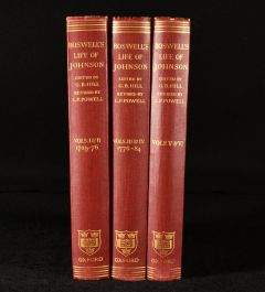 1934 Boswell's Life of Johnson