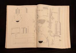 1864-8 8Vols Walker Brown Lightbody Davis Working Drawings & Designs 1st Edition