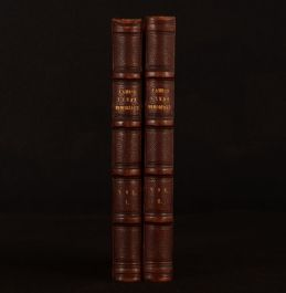 1848 2vols Final Memorials of Charles Lamb First Edition Thomas Noon Talfourd