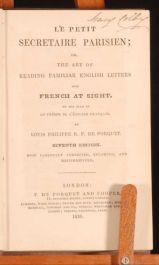 1836 Le Petit Secretaire Parisien PORQUET French