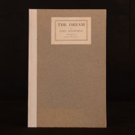 1922 The Dream John Masefield Judith Masefield Illustrated Signed Limited Ed