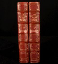 1924 2 vol Old World HOUSE FURNITURE H. CESCINSKY 1st