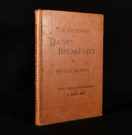 1898 The Dictionary of Dainty Breakfasts