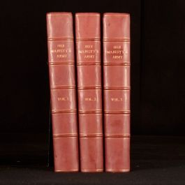 1890 3vols Her Majesty's Army A Descriptive Account Walter Richards Illustrated