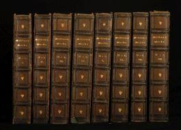 1851 8 Vols Works of JOHN MILTON Verse and Prose
