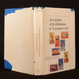 1976 Investigations Ichthyofauna of Nicaraguan Lakes Thorson First Edition Illustrated