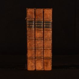1823 3vol Quentin Durward Historical Fiction Sir Walter Scott First Edition