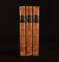 1823 3vol Quentin Durward Sir Walter Scott First Edition Waverley Penn Gambell