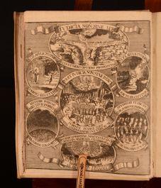 1717 Oeconomia Iudiciorum Divinorum Johann Henrich Very Scarce Latin Lutheran
