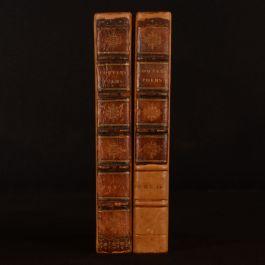 1811 2vols Poems of William Cowper New Edition Illustrated Full Calf Scarce