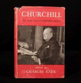 1953 CHURCHILL Contemporaries Charles EADE 1st Illus