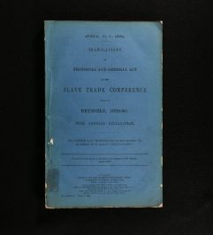 1890 Translations of Protocols and General Act of the Slave Trade Conference