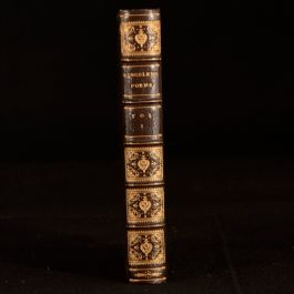 1884 Poems Charles Kingsley Volume I Saints Tragedy Sotheran Binding Drama
