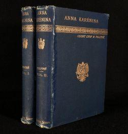 c1889 2vol Anna Karenina