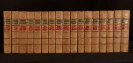 c1878 17vols The Works of George Eliot Cabinet Edition Middlemarch Romola etc.