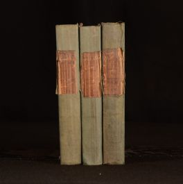 1827 3vol Letters Written by the Earl of Chesterfield to His Son Philip Dormer Stanhope
